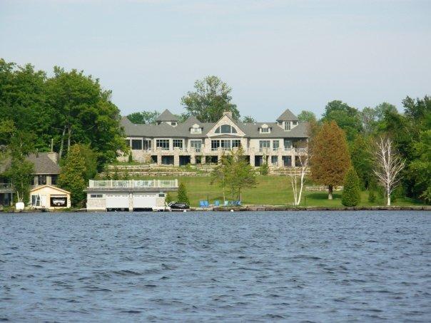 A billionaire's house