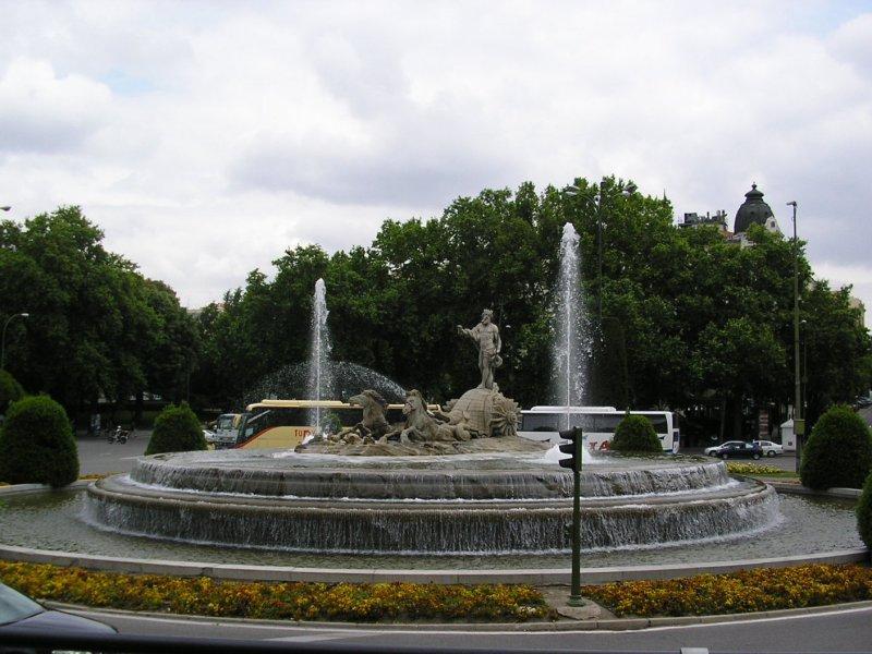 ..... Neptune's fountain.