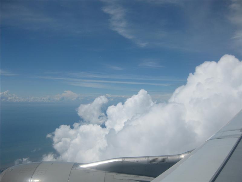Fleeing to Malaysia...