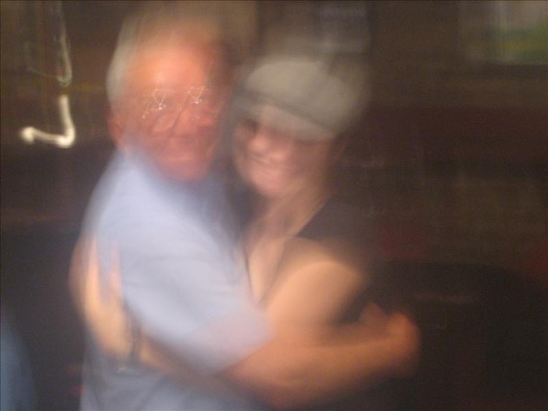 A great old Irish guy I danced with at an Irish bar.  Great night!
