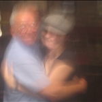 A great old Irish guy I danced with at an Irish bar.  Great night!