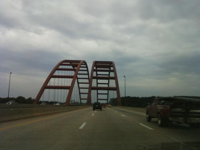 Jefferson Barracks bridge headed east on I-255 into Illinois