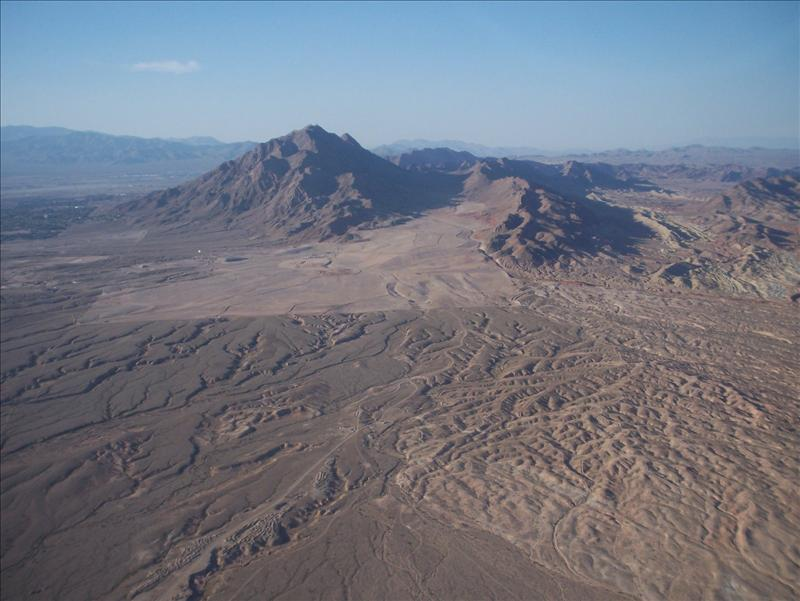 one for the geography lesson -- an eroded volcanic landscape