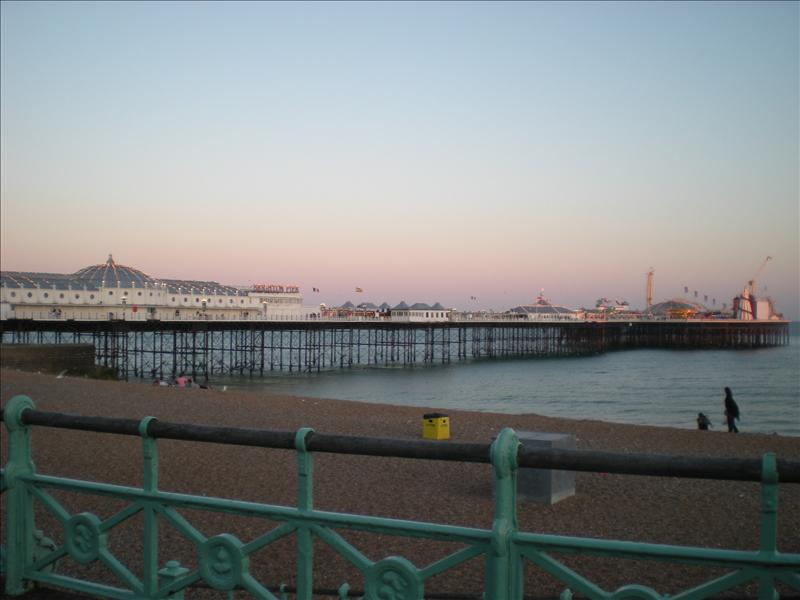 The famous pier, Brighton - 29 May