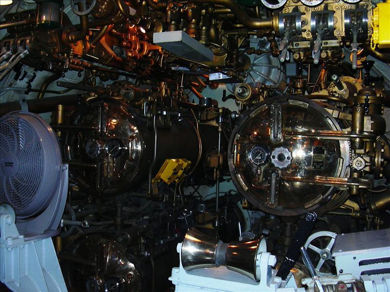 submarine torpedo tubes closed