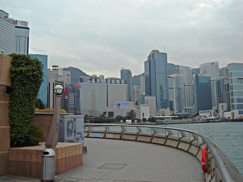 View of Victoria Bay from Hong Kong Exhibition Center