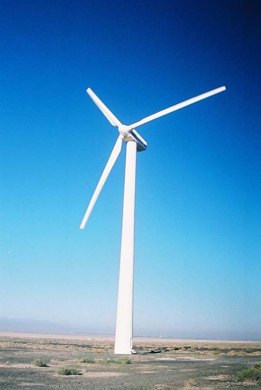 Daban City Wind Power Station 達板城風力發電站