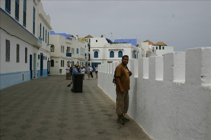 Abdellah along the Sea Wall