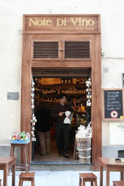 Firenze - wine shop