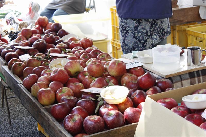 成堆的蘋果