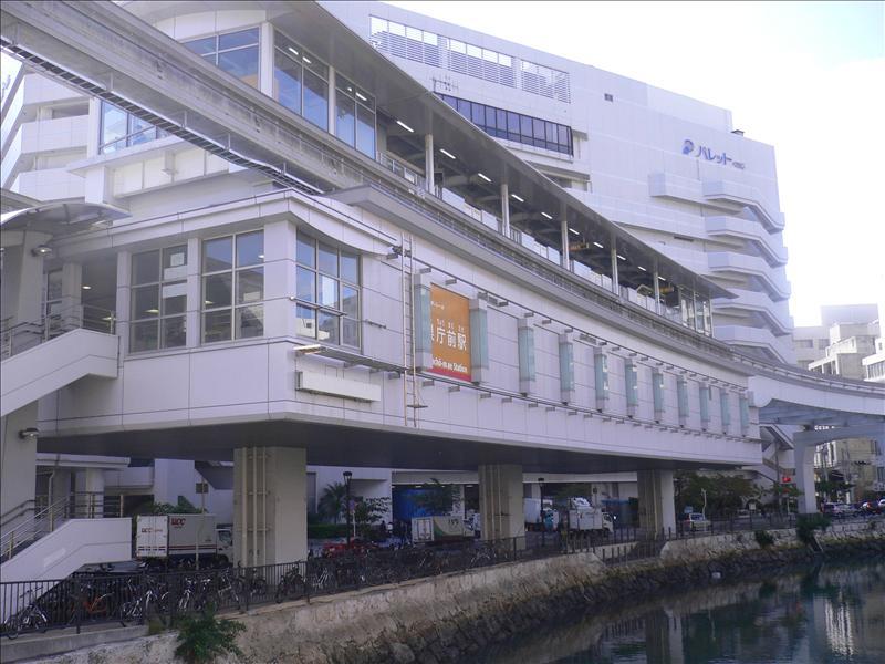 Yui Rail県庁前駅
