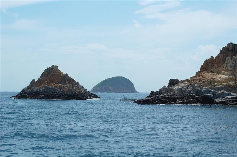 海膽口望東果洲