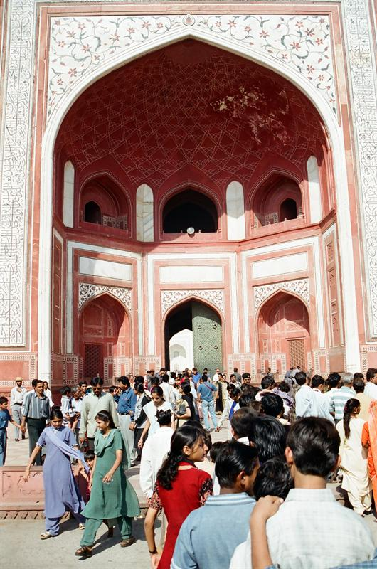 The Great gate (Darwaza-i rauza)—gateway to the Taj Mahal