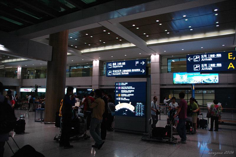 仁川國際機場一樓入境大廳