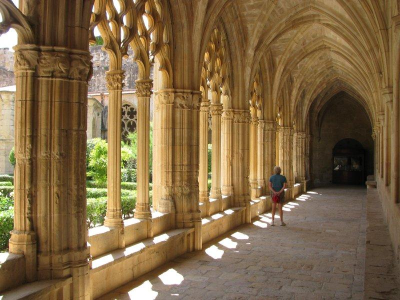 ... its cloisters ..