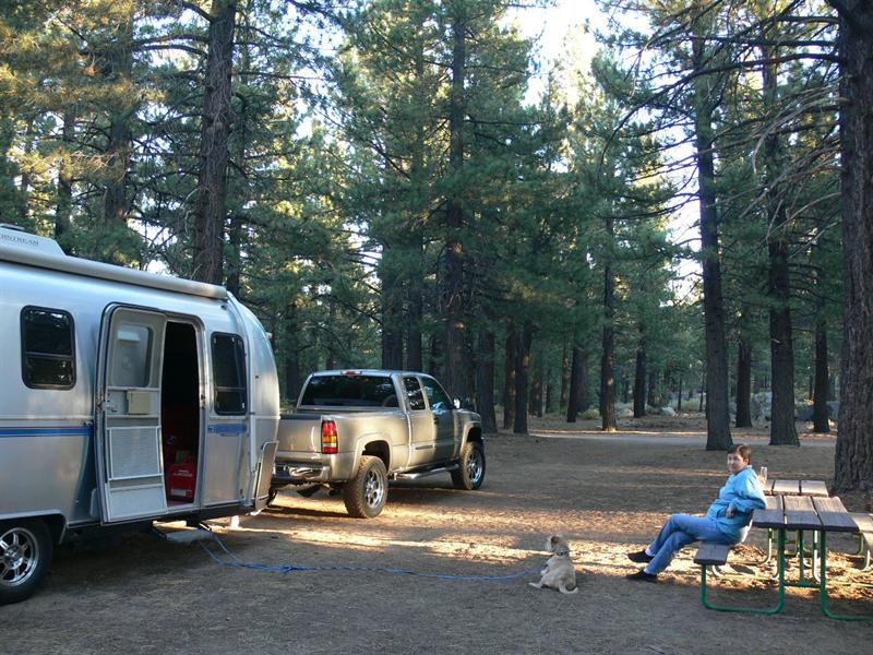 Mammoth camp ground