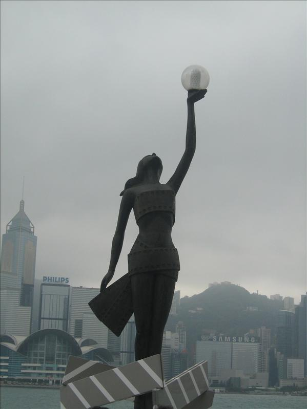 Olympic Games Statue
