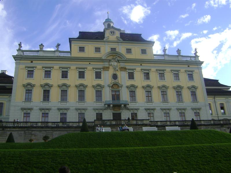 ludwirgburgs palace back side