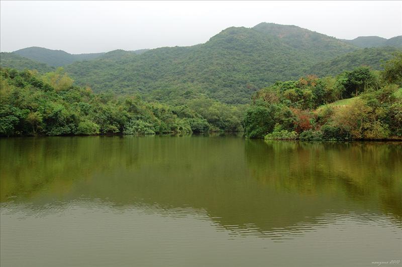紅石門村魚塘