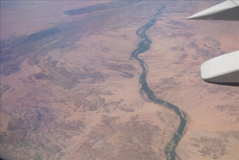 Orange River (frontière naturelle entre la Namibie et l'Afrique du Sud)