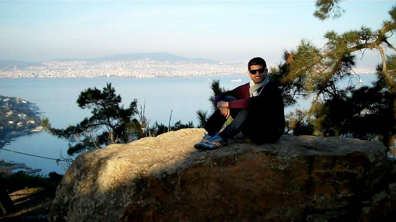 Rajiv on top of the world!
