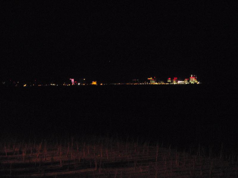 Atlantic City at night from Ocean City