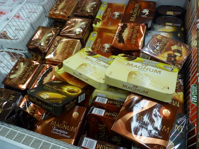 Yes there are Magnum bars in Lagos !