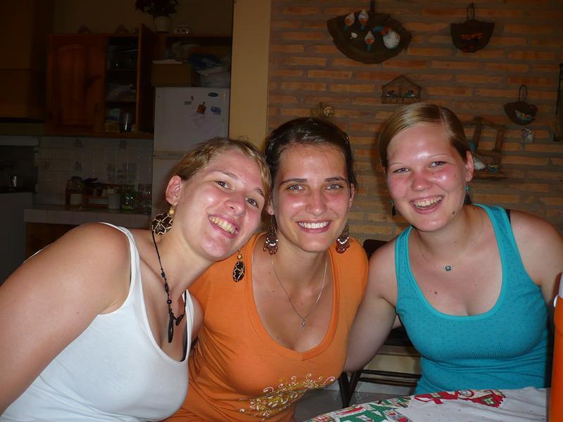 mit Laura und Linda