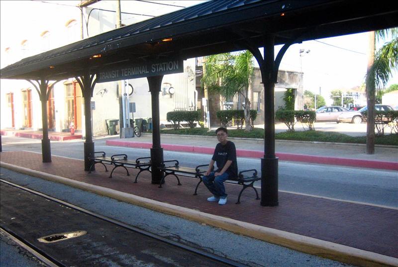 旧时的车站