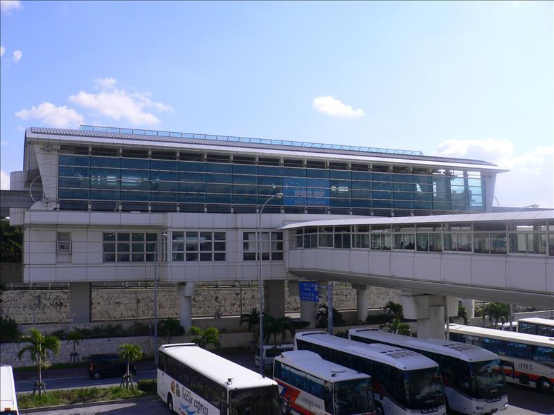 那霸單軌電車Yui Rail那霸空港駅