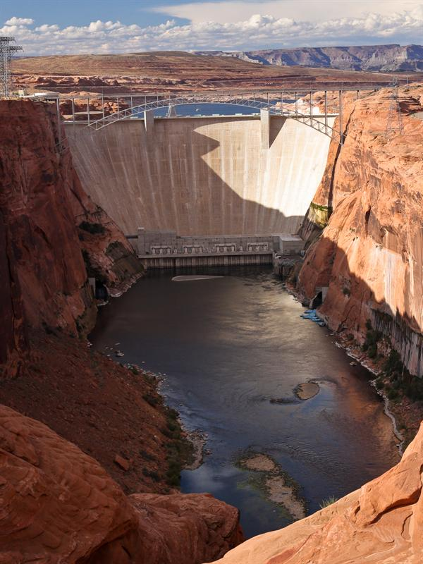 Glen Canyon Dam and Powerplant