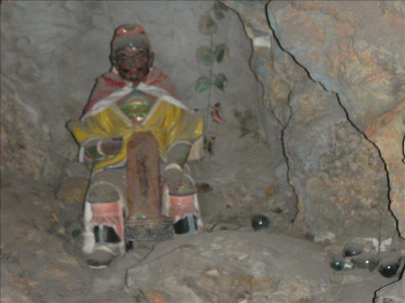 wierd caves under ben hai
