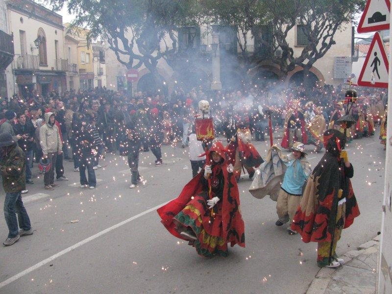 Winter Festival at Sant Pere de Ribes ....