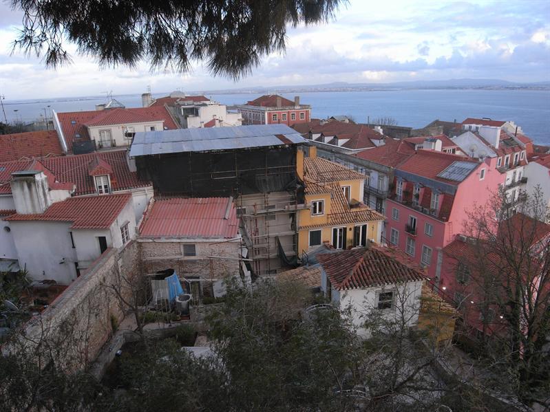 view over lisbon from castelo de sao jorge