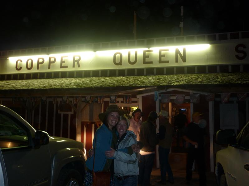 Rolling out of the Copper Queen at some ungodly hour...