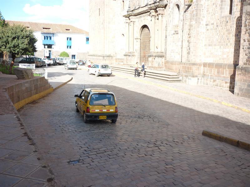 A classy taxi...