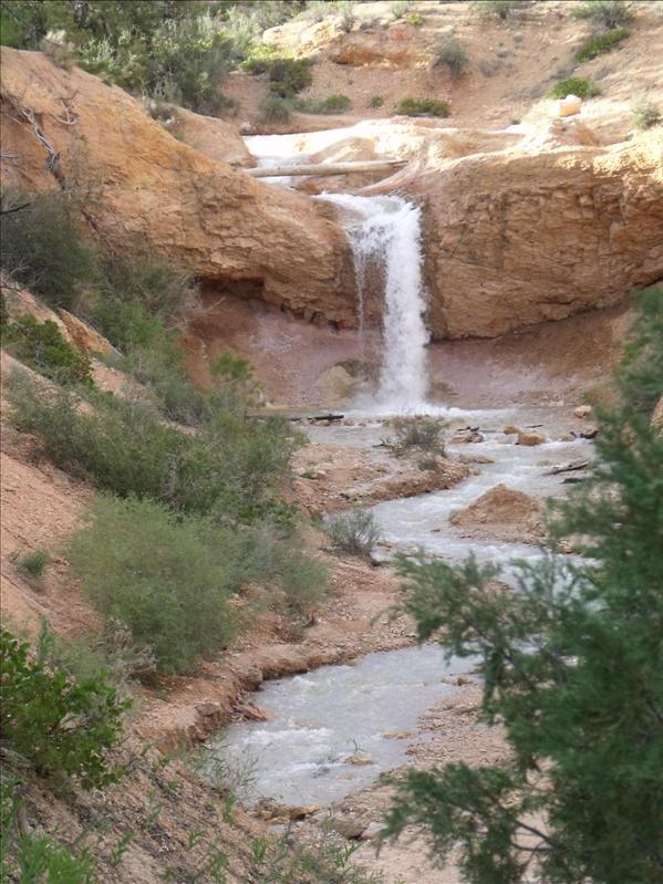 Falls at Mossy Cave