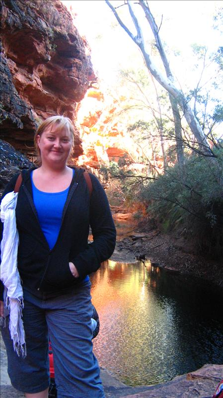 Me at the Garden of Eden at Kings Canyon