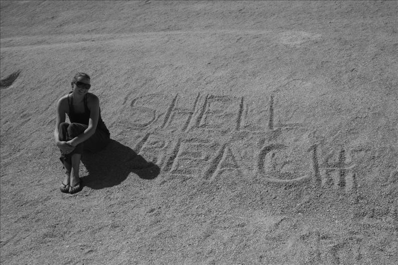 Ummm, Shell Beach!!