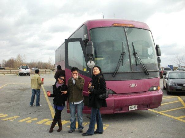 """Our motorcoach  """"AH SCUZE ME I SAID TGR CLASS NOT LTS CLASS!!!!!! TGR CLASS FIRST!!!!!!"""""""