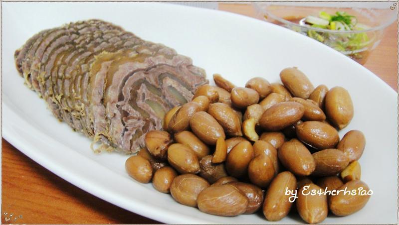 滷花生 & 冷滷牛肉