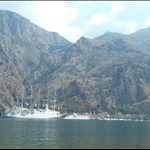 View from between Prcanj and Kotor