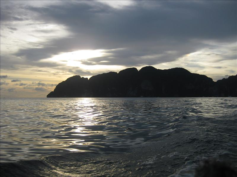 Sunset on the Ko Phi Phi Islands