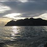 Sunset on the Ko Phi Phi Islands