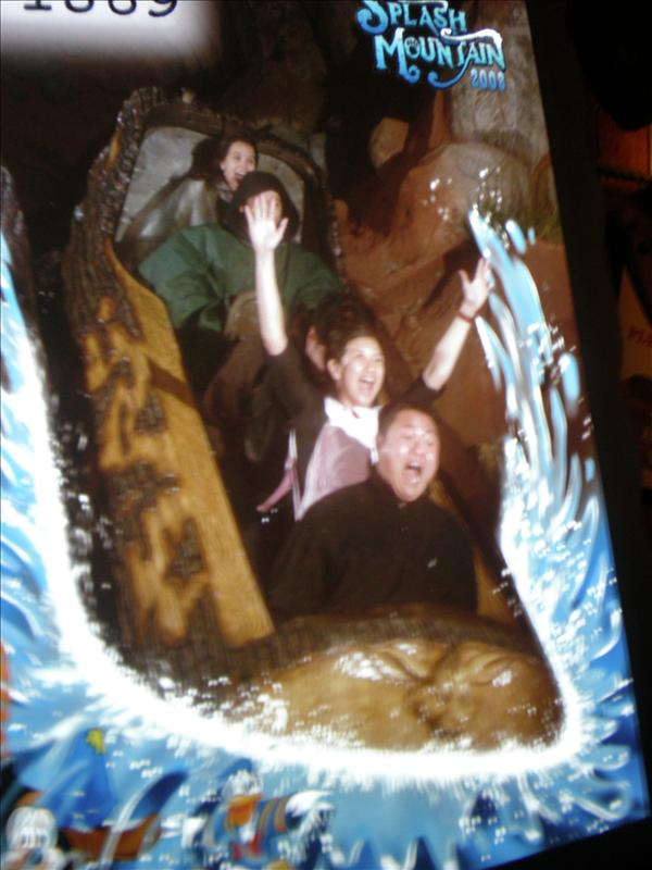 Reaction shot - Splash Mountain
