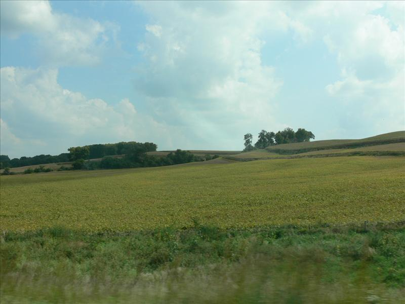 Iowa is not flat!