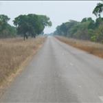 In Zimbabwe... Heading to the Botswana border