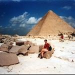 Great Pyramid-King hoops, Giza, Egypt