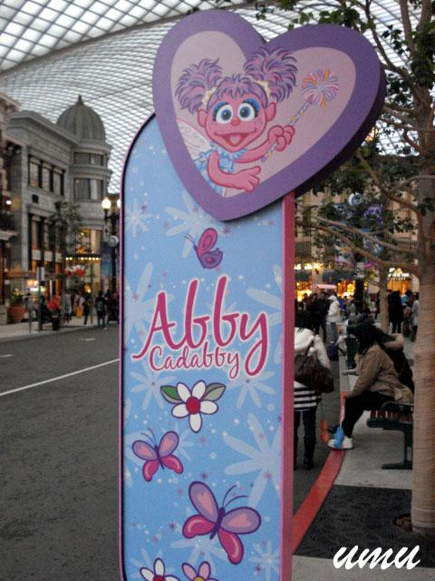 Signboard of the Abby