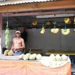 Local fruit seller
